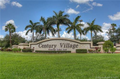 Photo of 12650 SW 15th St #413F, Pembroke Pines, FL 33027 (MLS # A11073105)