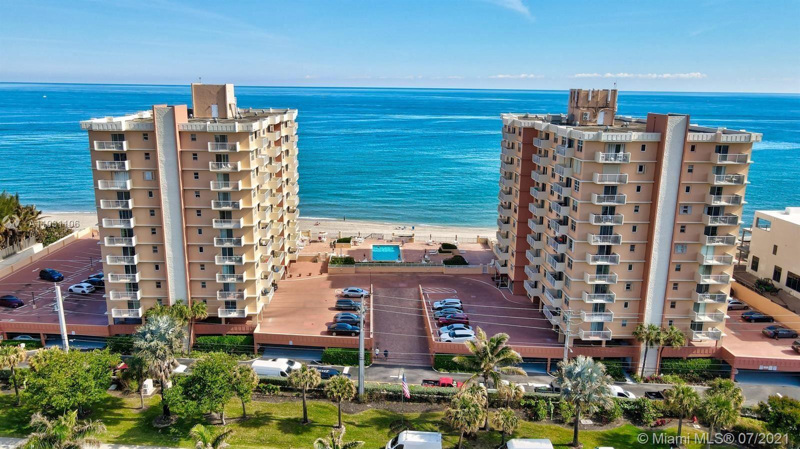 4505 S Ocean Blvd #104, Highland Beach, FL 33487 - #: A11031106