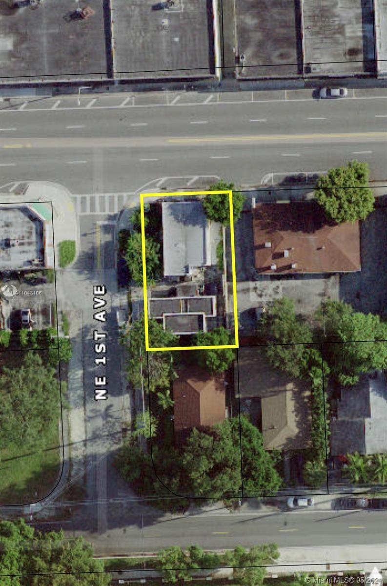 100 NE 54th St, Miami, FL 33137 - #: A11043106