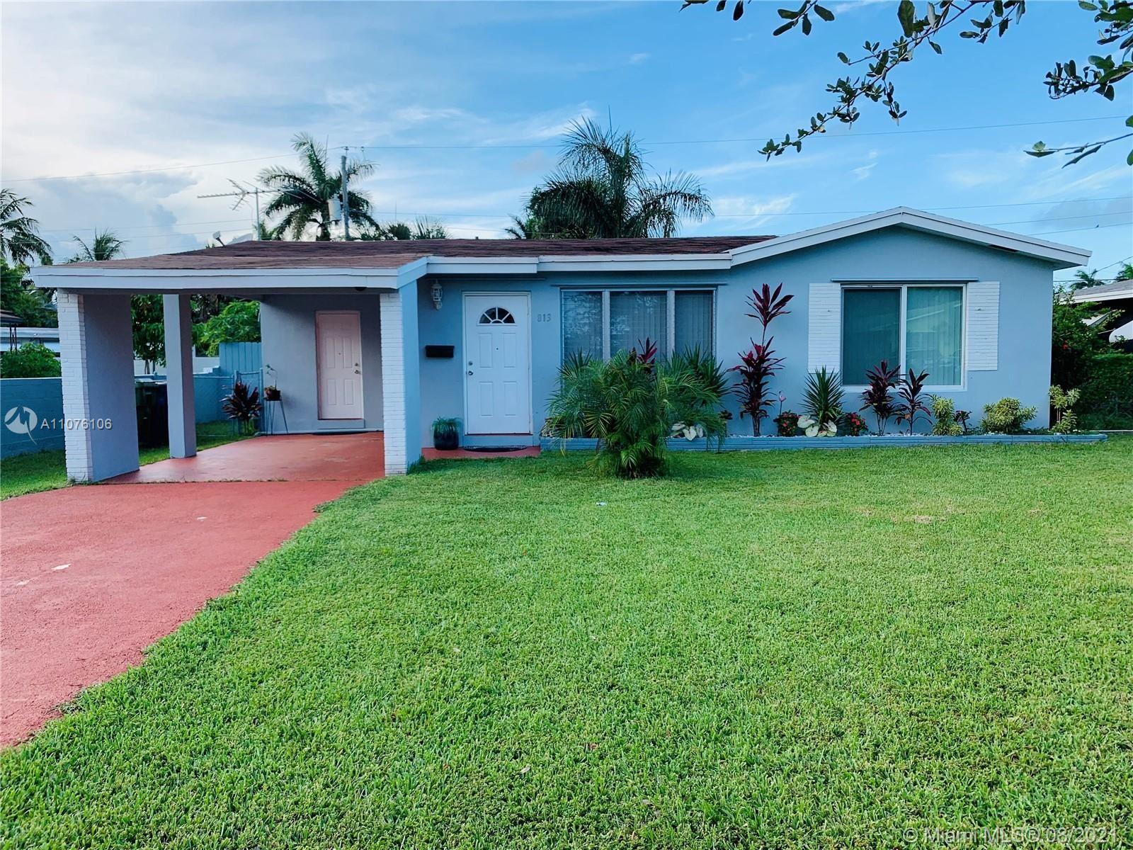 813 NE 2nd St, Hallandale Beach, FL 33009 - #: A11076106