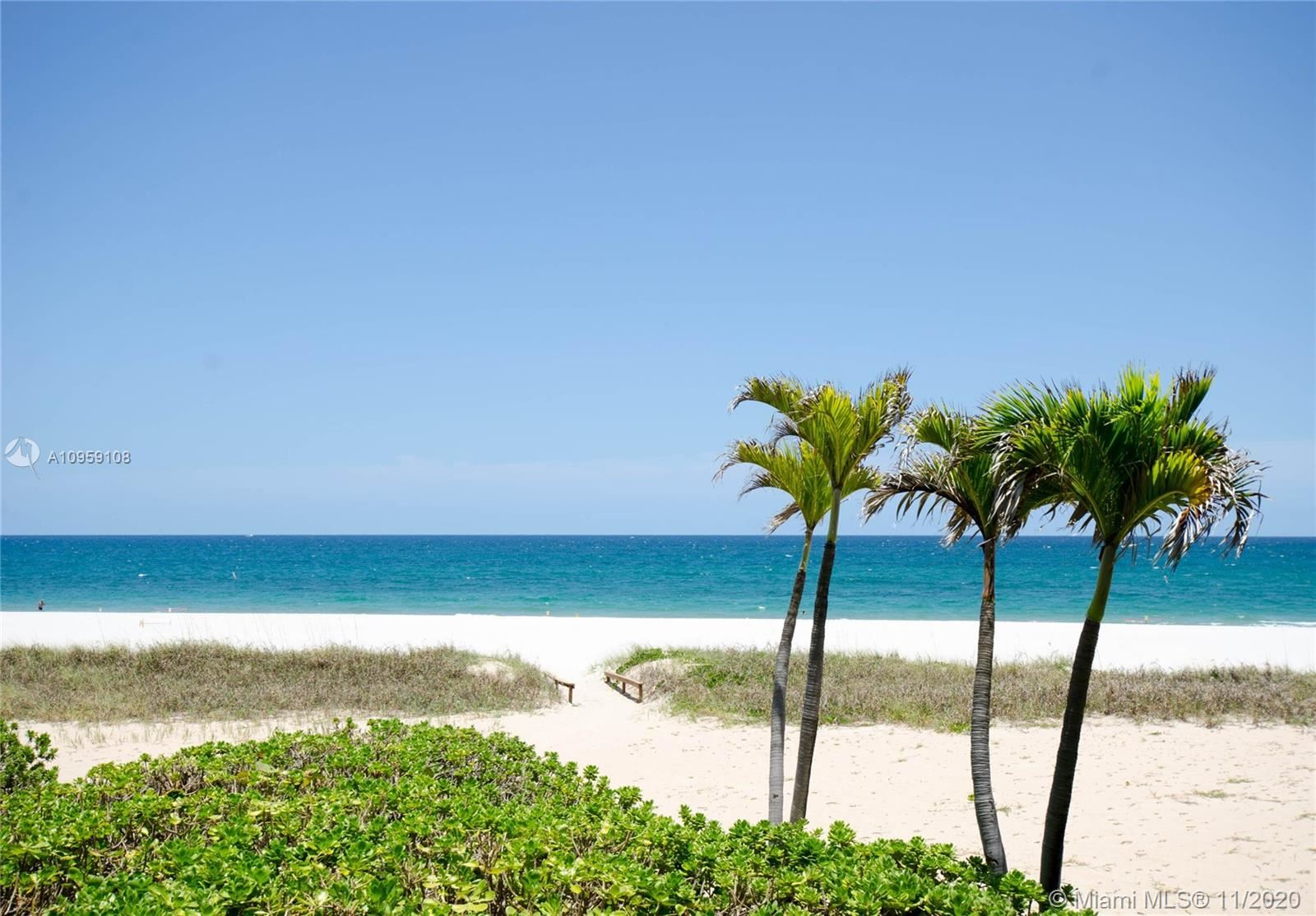 Photo of 1800 S Ocean Blvd #201, Lauderdale By The Sea, FL 33062 (MLS # A10959108)