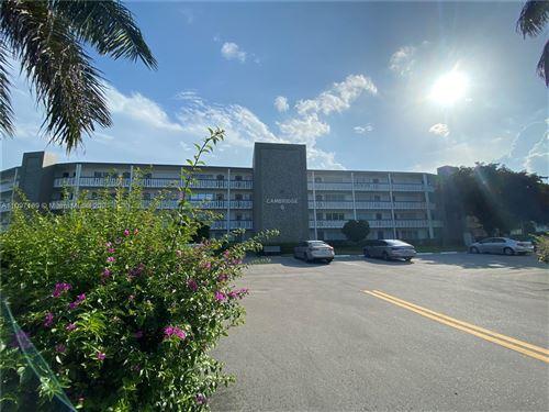 Photo of 3141 Cambridge G #3141, Deerfield Beach, FL 33442 (MLS # A11097109)