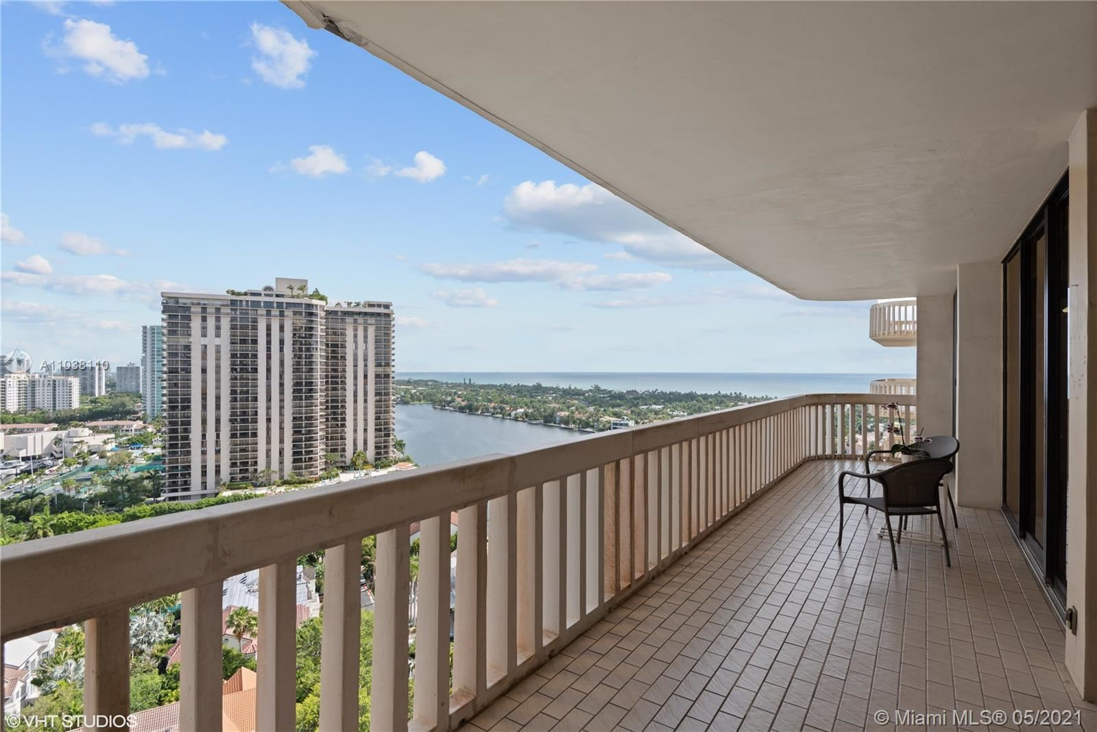 Photo of 19355 Turnberry Way #18L, Aventura, FL 33180 (MLS # A11038110)