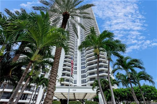 Photo of 3500 Mystic Pointe Dr #1205, Aventura, FL 33180 (MLS # A10720111)