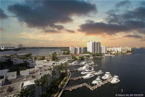 Photo of 7910 Harbor Island Dr #707, North Bay Village, FL 33141 (MLS # A10978111)