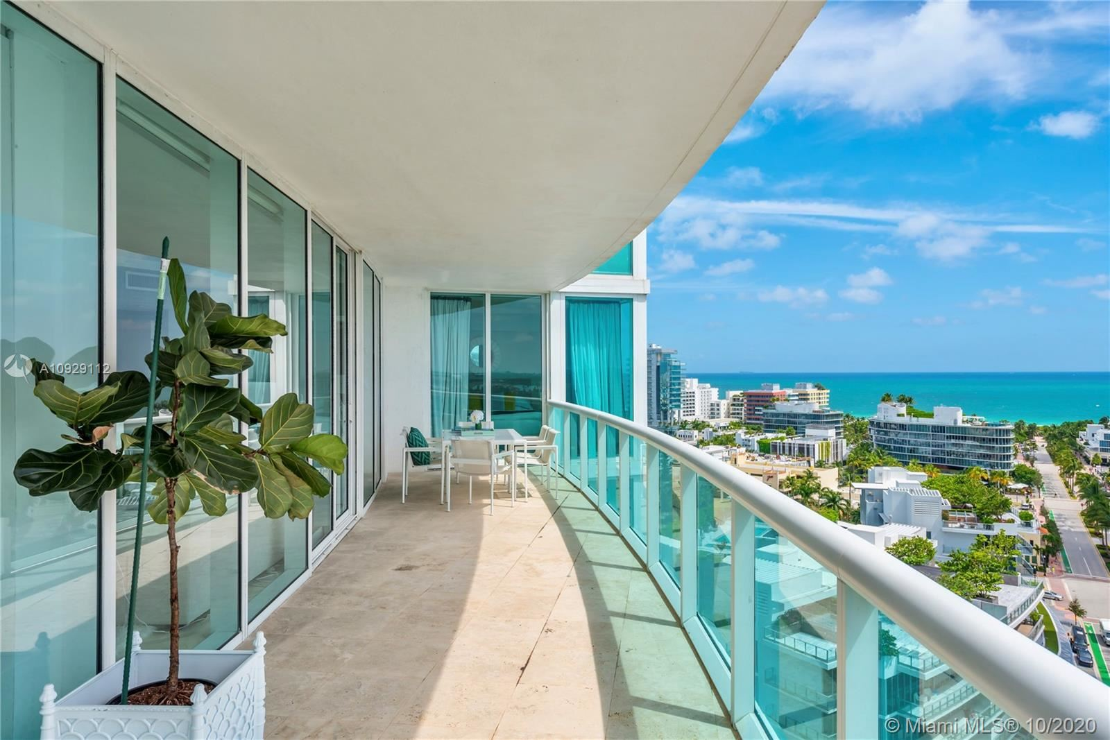 Photo of 1000 S Pointe Dr #1605, Miami Beach, FL 33139 (MLS # A10929112)
