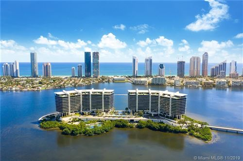 Photo of 5500 Island Estates Dr #804N, Aventura, FL 33160 (MLS # A10744114)