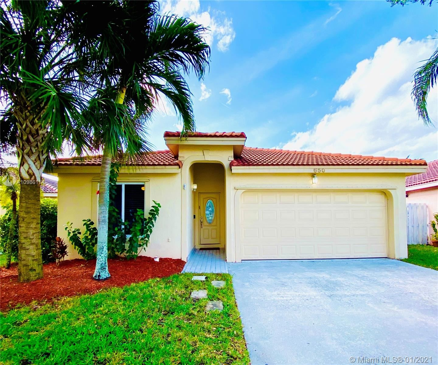 650 NW 182nd Way, Pembroke Pines, FL 33029 - #: A10986114