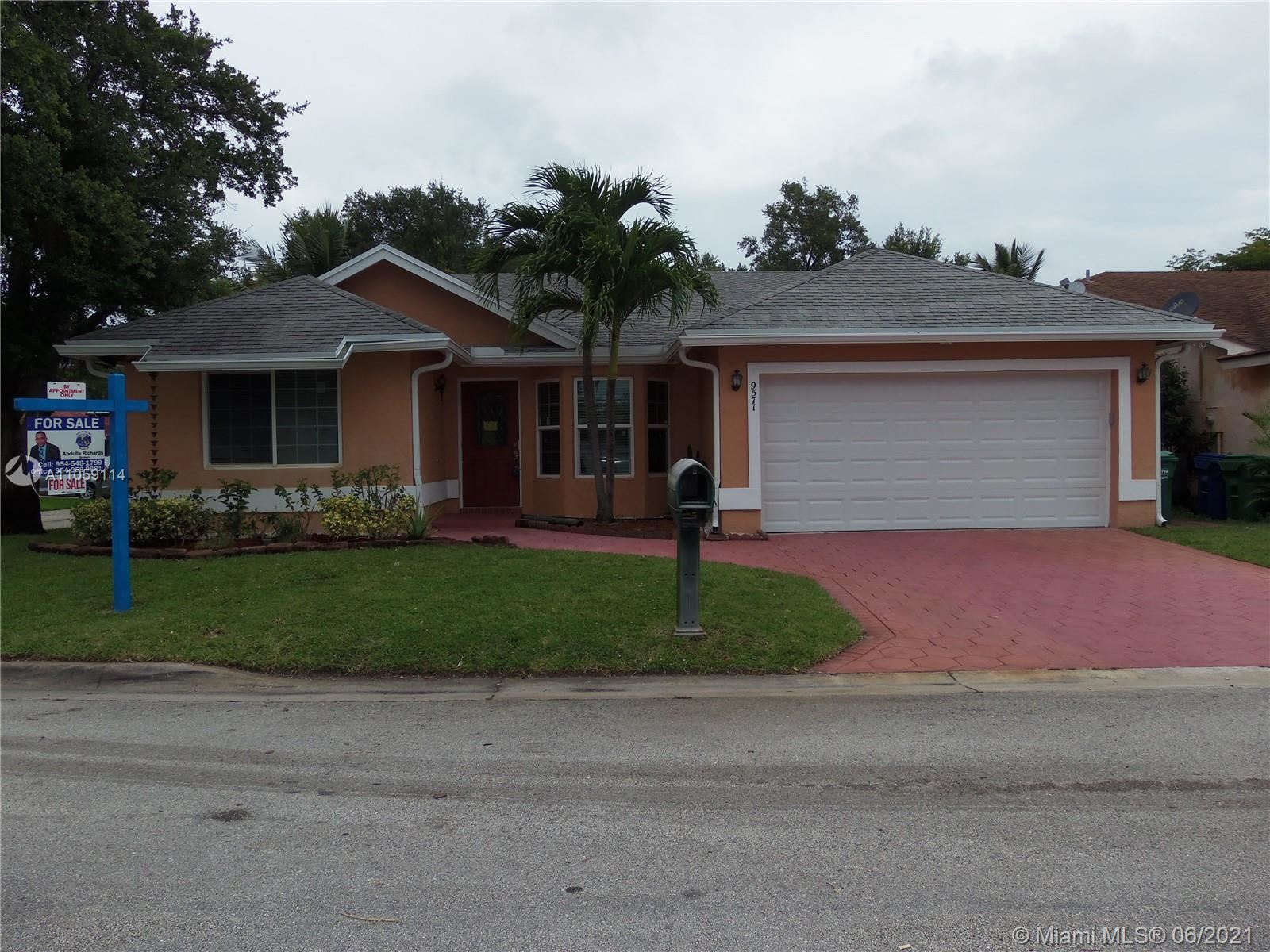 9571 NW 24th Ct, Coral Springs, FL 33065 - #: A11059114