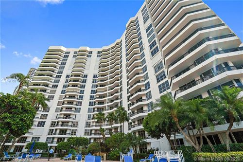 Photo of 3600 Mystic Pointe Dr #202, Aventura, FL 33180 (MLS # A10911116)