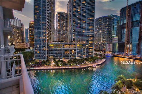Photo of 801 Brickell Key Blvd #1504, Miami, FL 33131 (MLS # A11027119)
