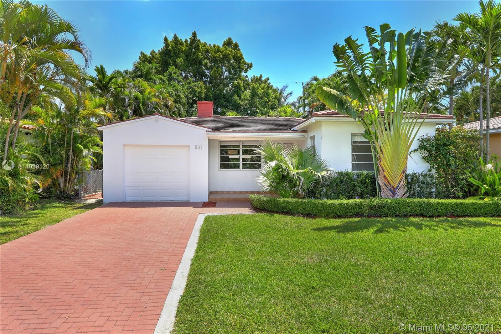 837 Tangier St, Coral Gables, FL 33134 - #: A11039120