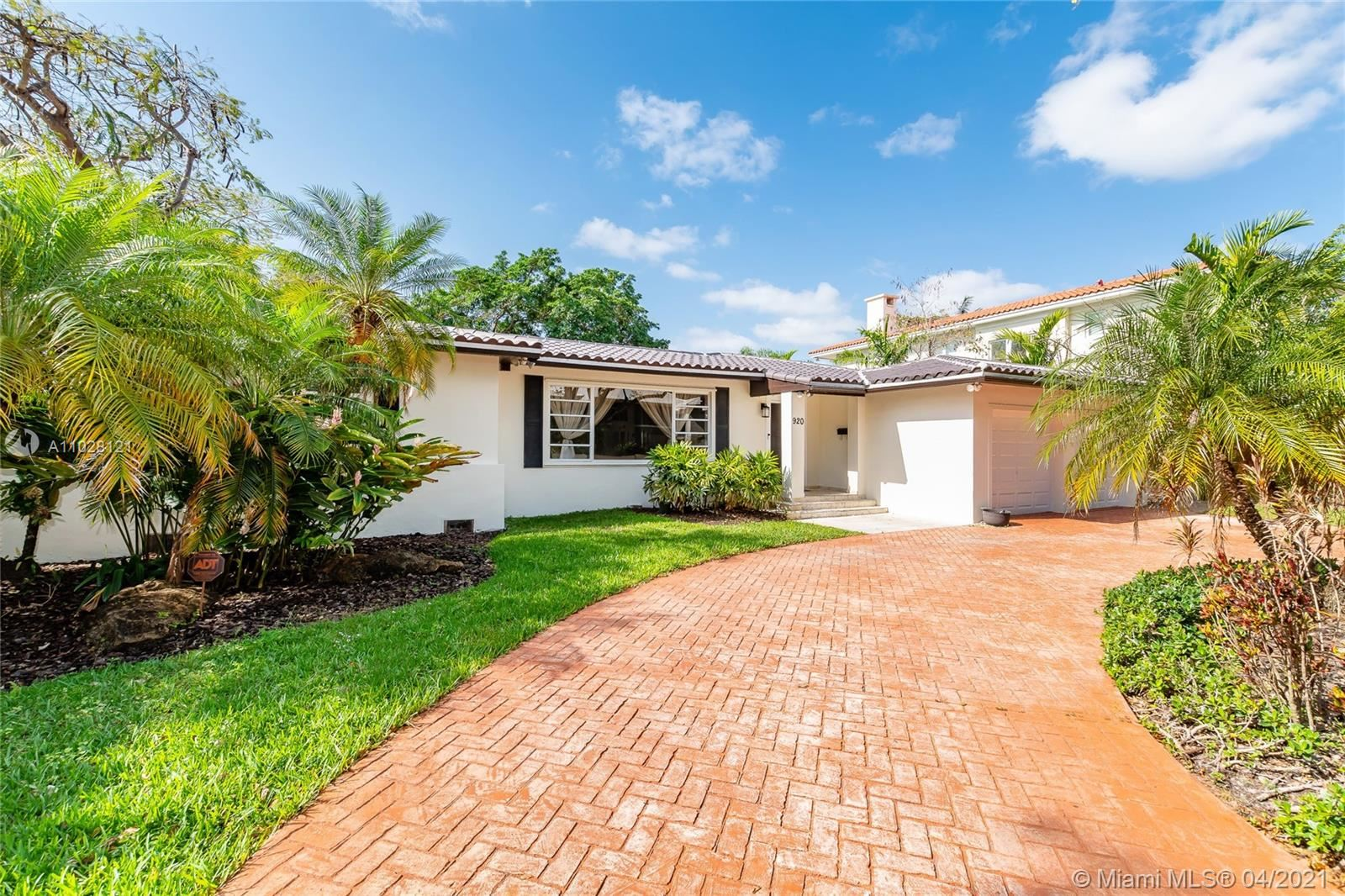 Photo of 920 Palermo Ave, Coral Gables, FL 33134 (MLS # A11028121)