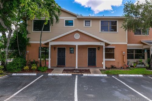 Photo of Listing MLS a10839122 in 761 NW 106th AVE #761 Pembroke Pines FL 33026