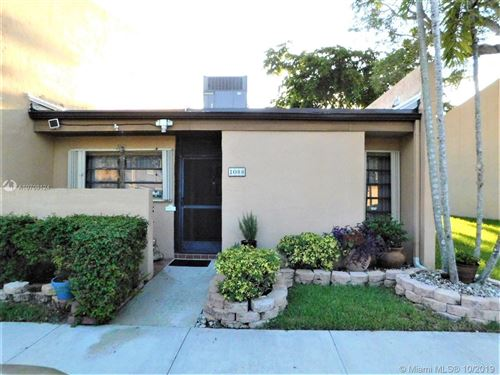 Photo of Listing MLS a10708124 in 1088 NW 98th Ter #116 Pembroke Pines FL 33024
