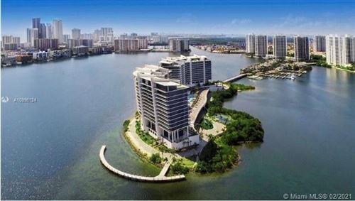 Photo of 5500 Island Estates Dr #1506, Aventura, FL 33160 (MLS # A10996124)
