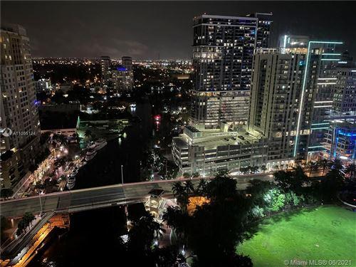 Photo of 333 Las Olas Way #2501, Fort Lauderdale, FL 33301 (MLS # A11055124)