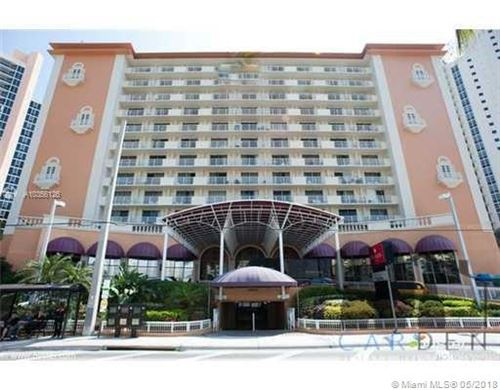 Photo of 19201 Collins Ave #419, Sunny Isles Beach, FL 33160 (MLS # A10356126)