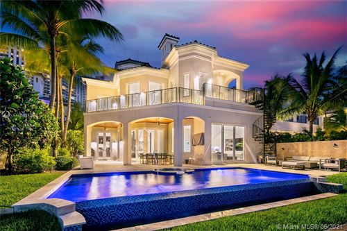 Photo of 3916 Island Estates Dr, Aventura, FL 33160 (MLS # A11063126)