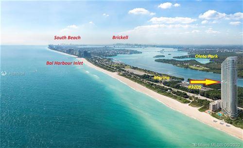 Photo of 15701 Collins #3205, Sunny Isles Beach, FL 33160 (MLS # A10873128)