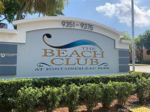 Photo of 9375 Fontainebleau Blvd #L227, Miami, FL 33172 (MLS # A11020130)