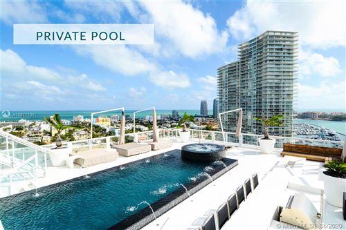Photo of 520 West Avenue #PH-B, Miami Beach, FL 33139 (MLS # A10877131)