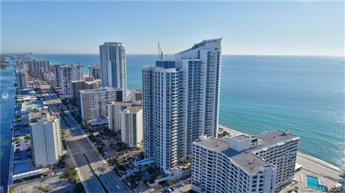 Photo of 3101 S Ocean Drive #3408, Hollywood, FL 33019 (MLS # A10937131)