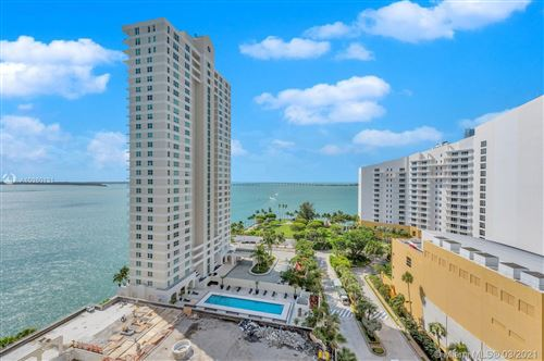Photo of 770 Claughton Island Dr #1704, Miami, FL 33131 (MLS # A10980131)