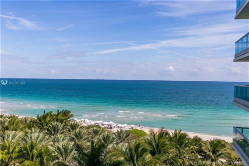 Photo of 9401 Collins Ave #805, Surfside, FL 33154 (MLS # A10797133)