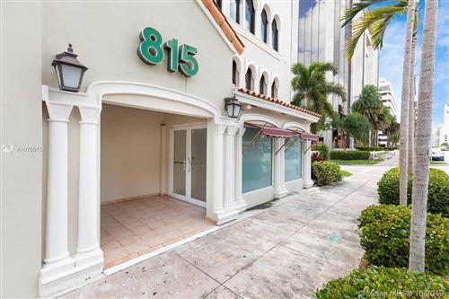 Photo of 815 Ponce De Leon Blvd #retail floor, Coral Gables, FL 33134 (MLS # A10756134)
