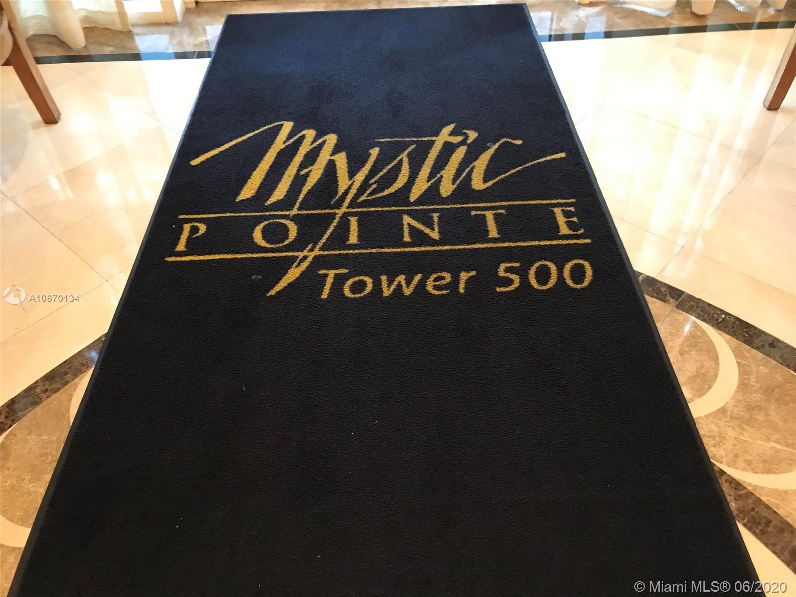 Photo of 3530 Mystic Pointe Dr #2413, Aventura, FL 33180 (MLS # A10870134)
