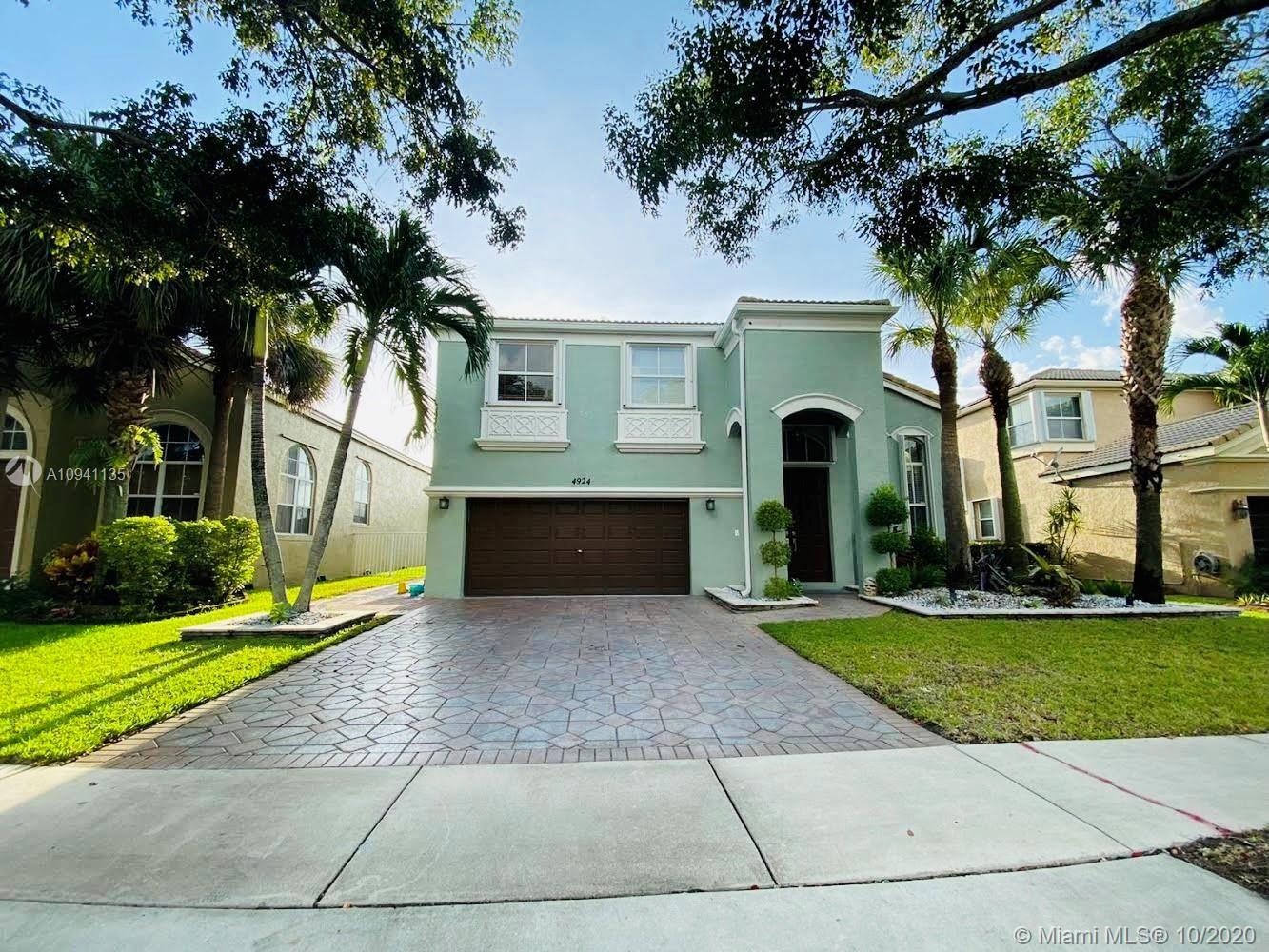 4924 SW 164th Ave, Miramar, FL 33027 - #: A10941135