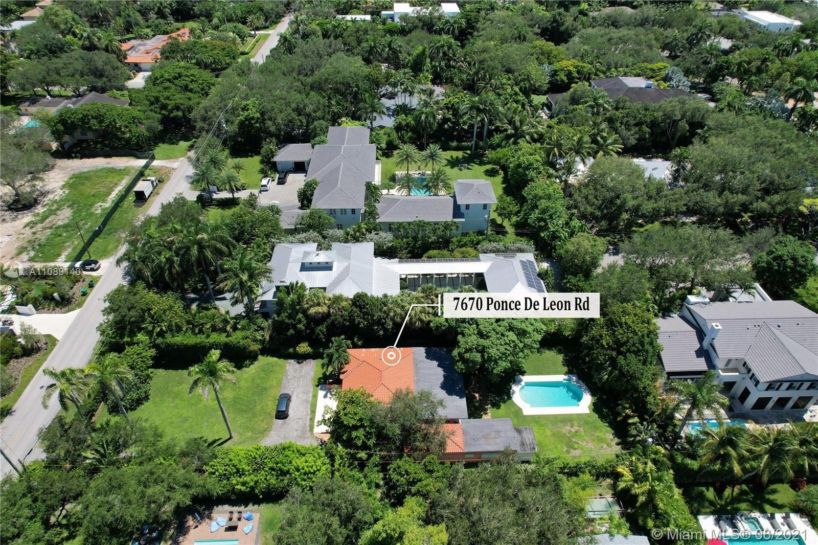 7670 Ponce De Leon Rd, Miami, FL 33143 - #: A11089140