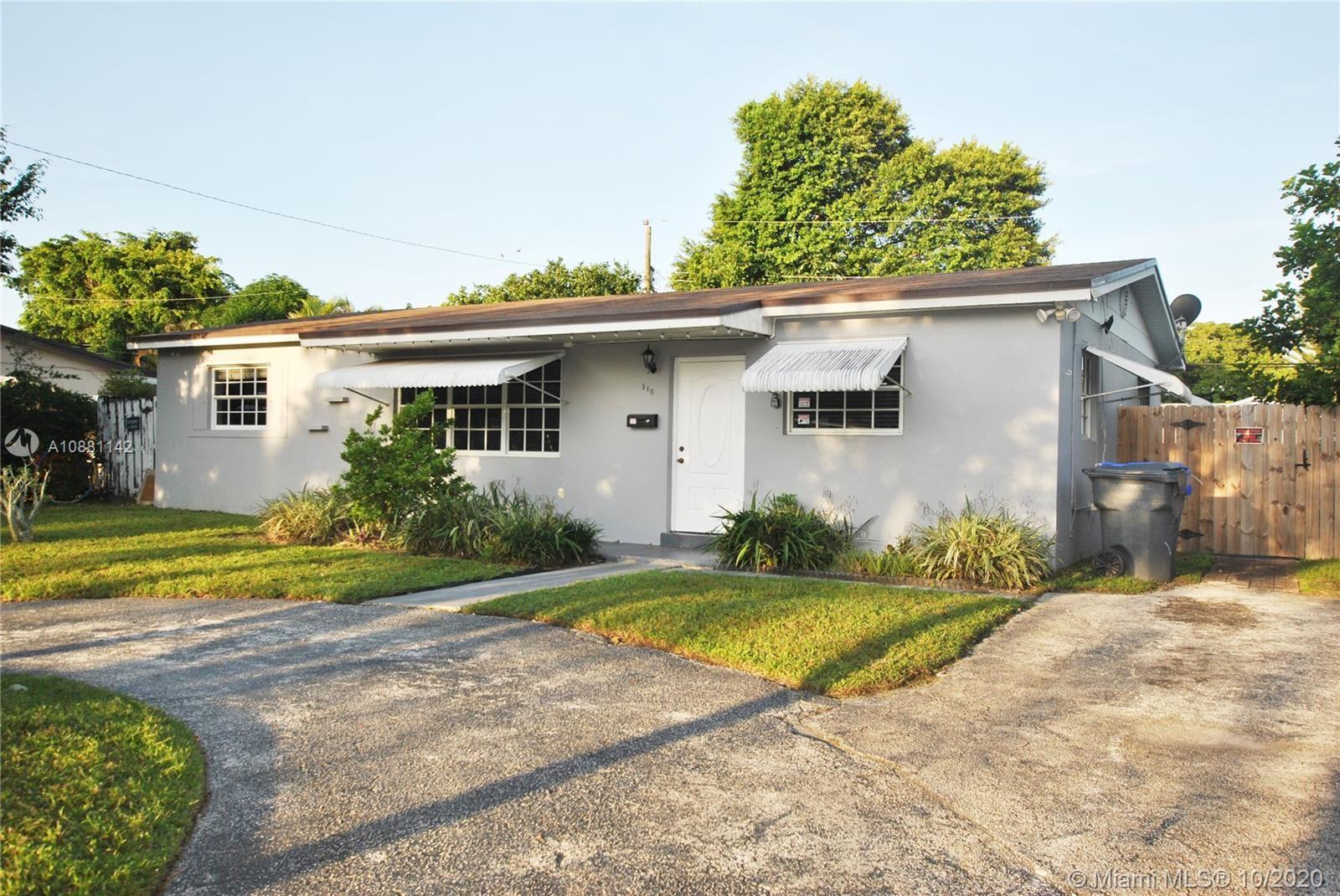 310 N 68th Ter, Hollywood, FL 33024 - #: A10881142