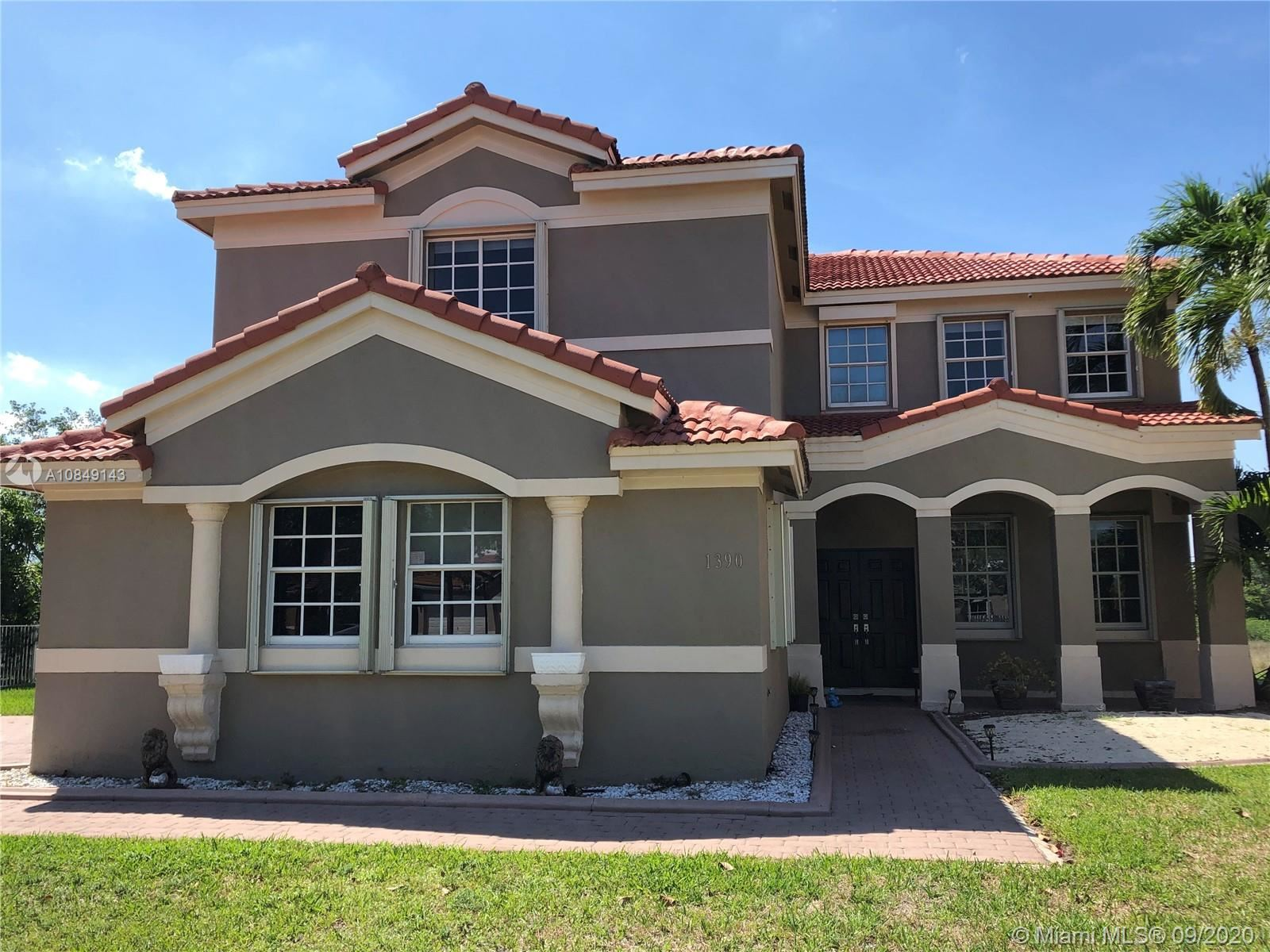 1390 NW 166th Ave, Pembroke Pines, FL 33028 - #: A10849143