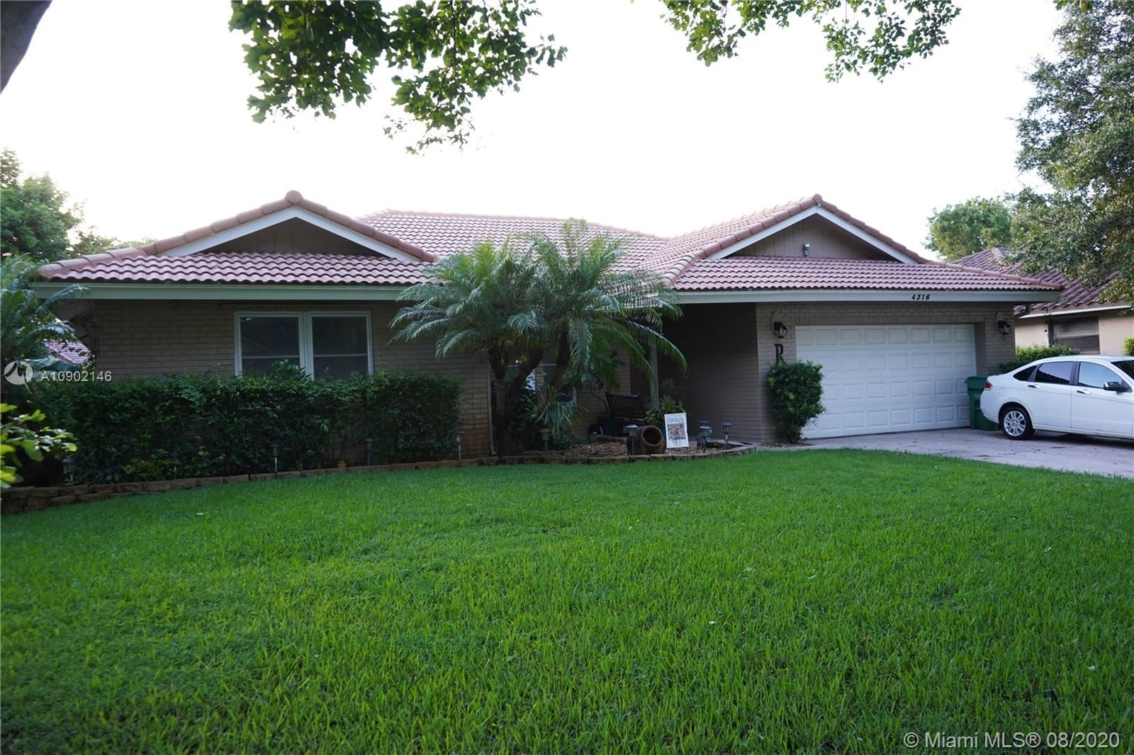 4316 NW 71st Dr, Coral Springs, FL 33065 - #: A10902146