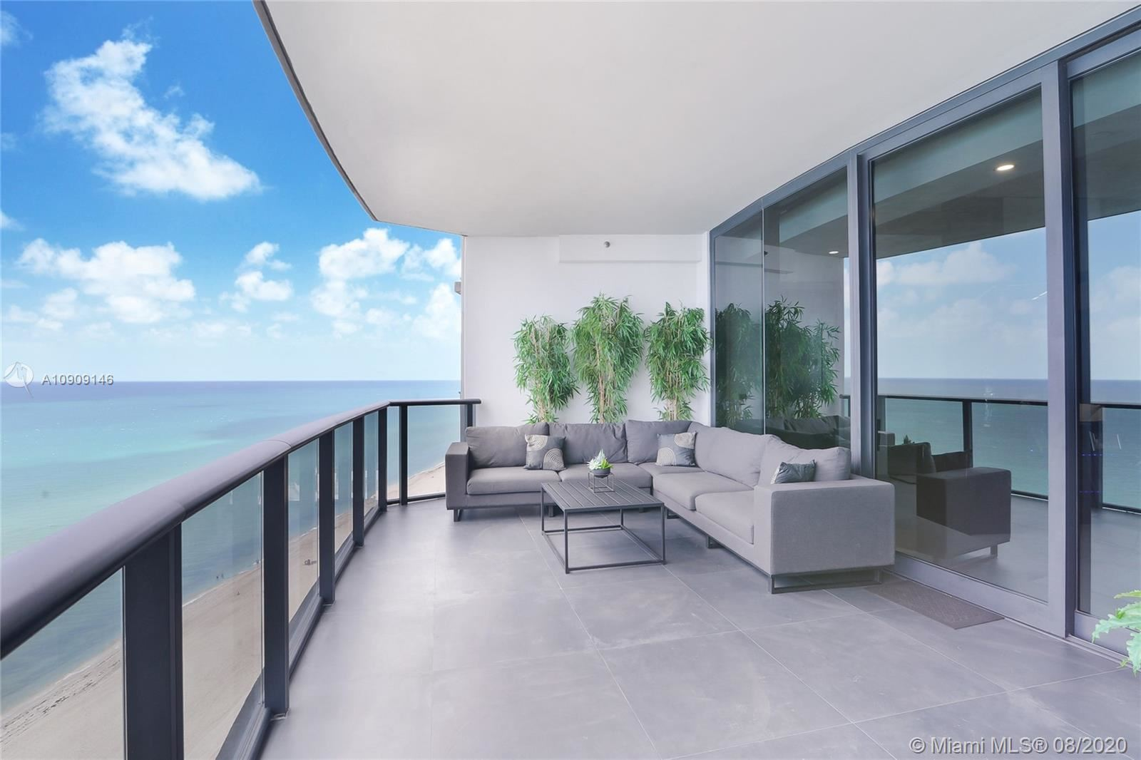 Photo of 18555 Collins Ave #1605, Sunny Isles Beach, FL 33160 (MLS # A10909146)