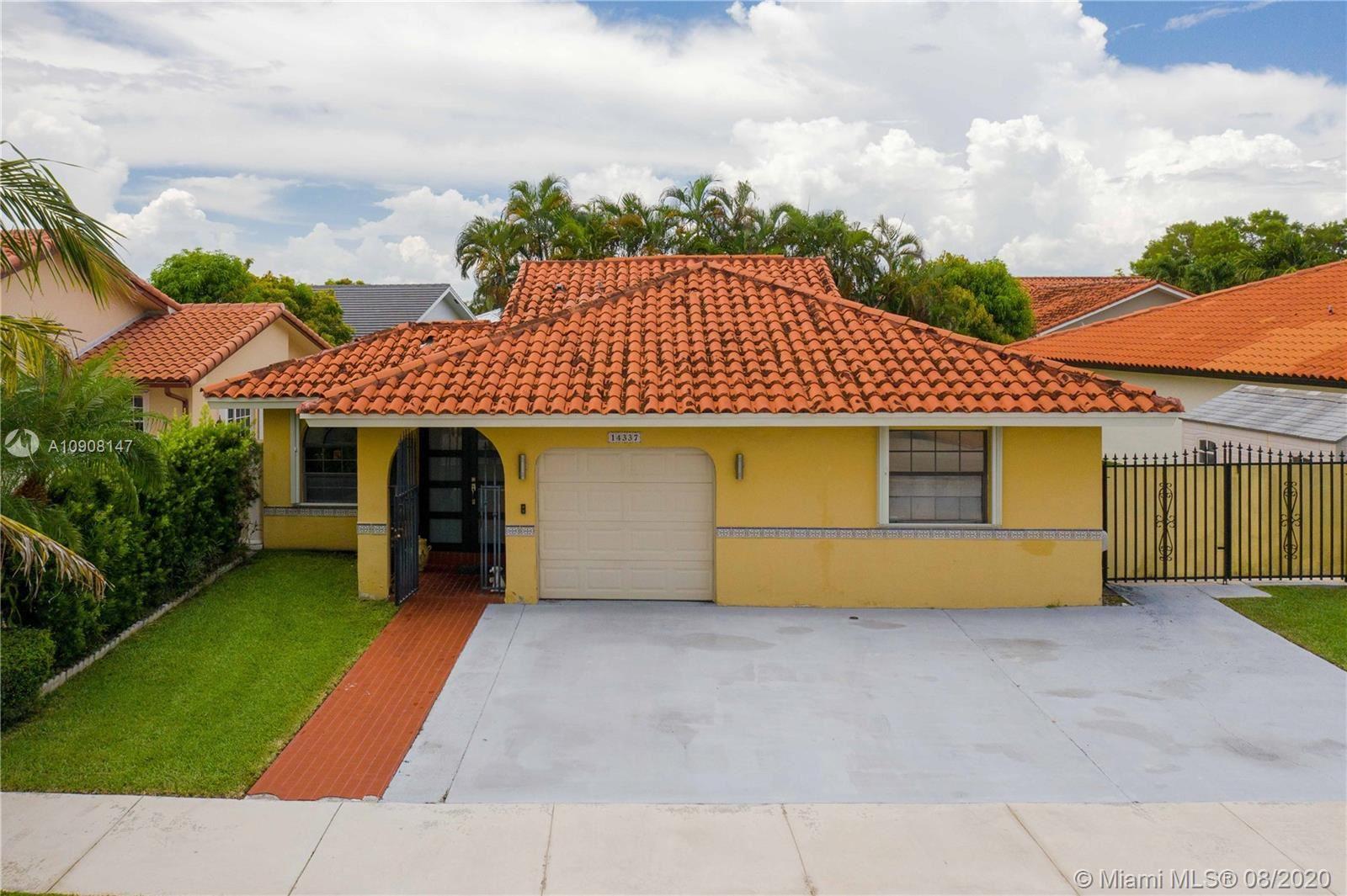14337 SW 51st St, Miami, FL 33175 - #: A10908147