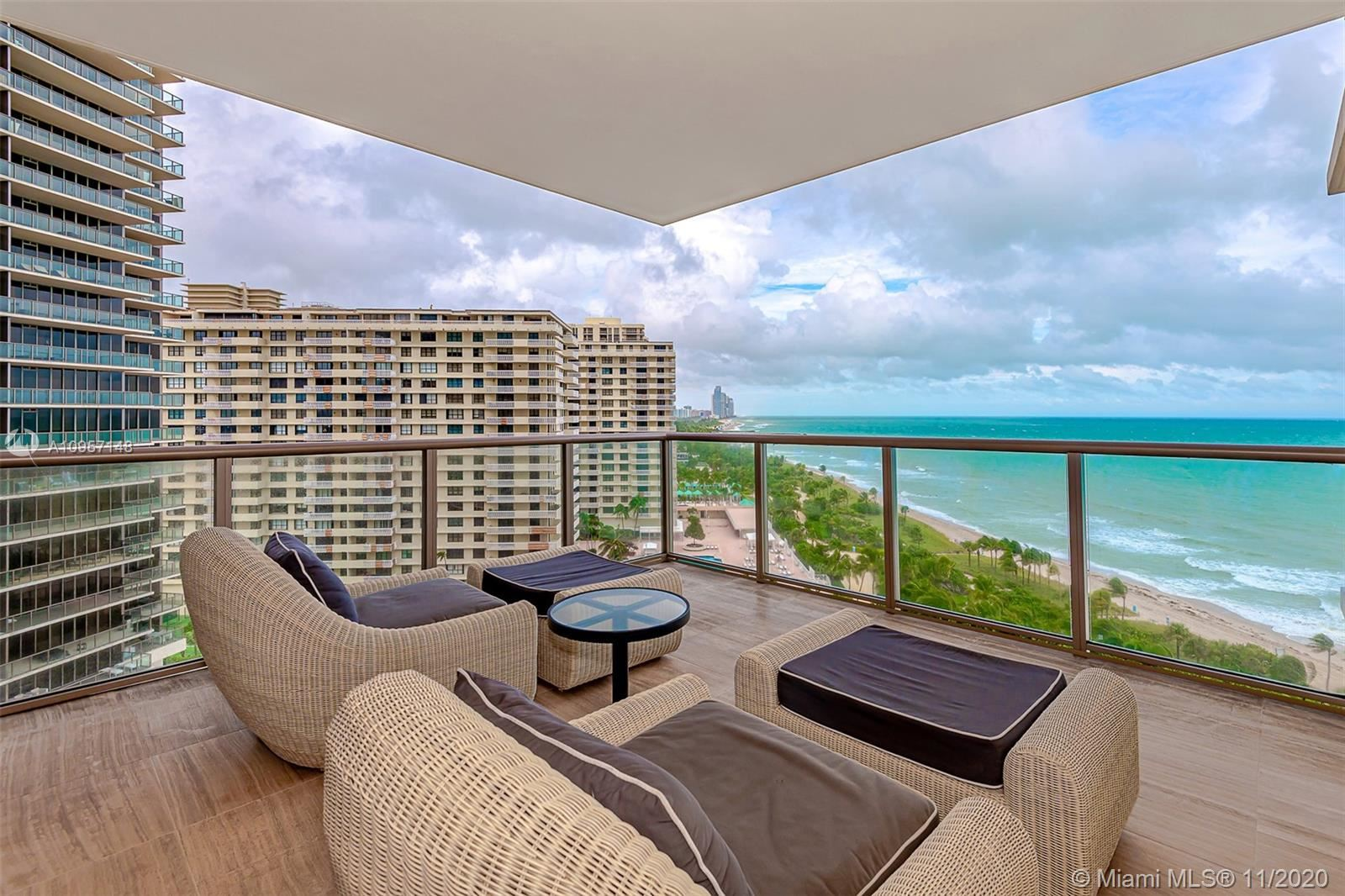 Photo of 9703 Collins Ave #1001, Bal Harbour, FL 33154 (MLS # A10957148)