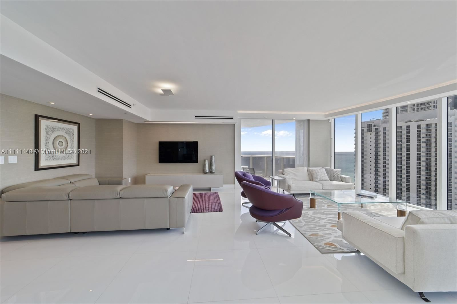 Photo of 18911 Collins Ave #2105, Sunny Isles Beach, FL 33160 (MLS # A11111148)