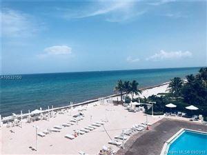 Photo of 3180 S Ocean Dr #409, Hallandale, FL 33009 (MLS # A10533150)