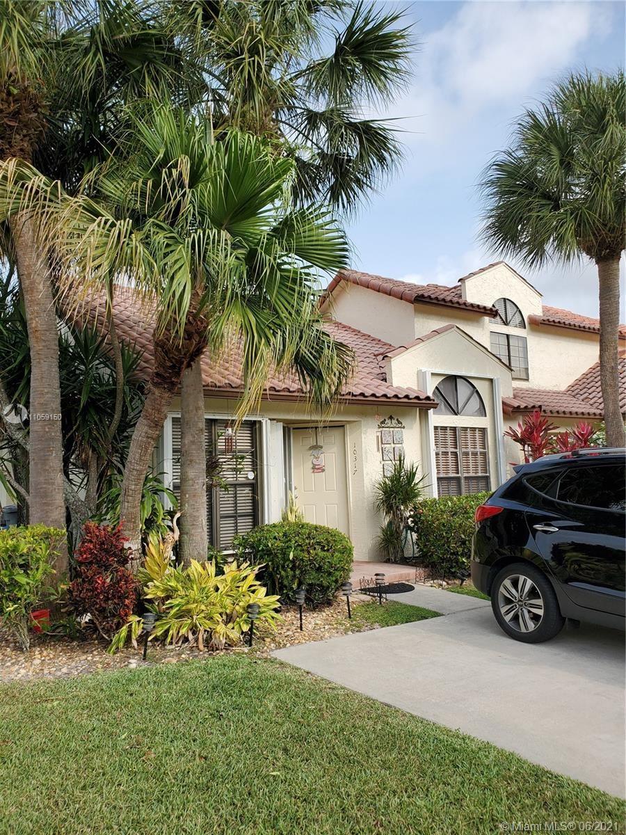 Photo of 10317 Hidden Springs Ct #10317, Boca Raton, FL 33498 (MLS # A11059150)