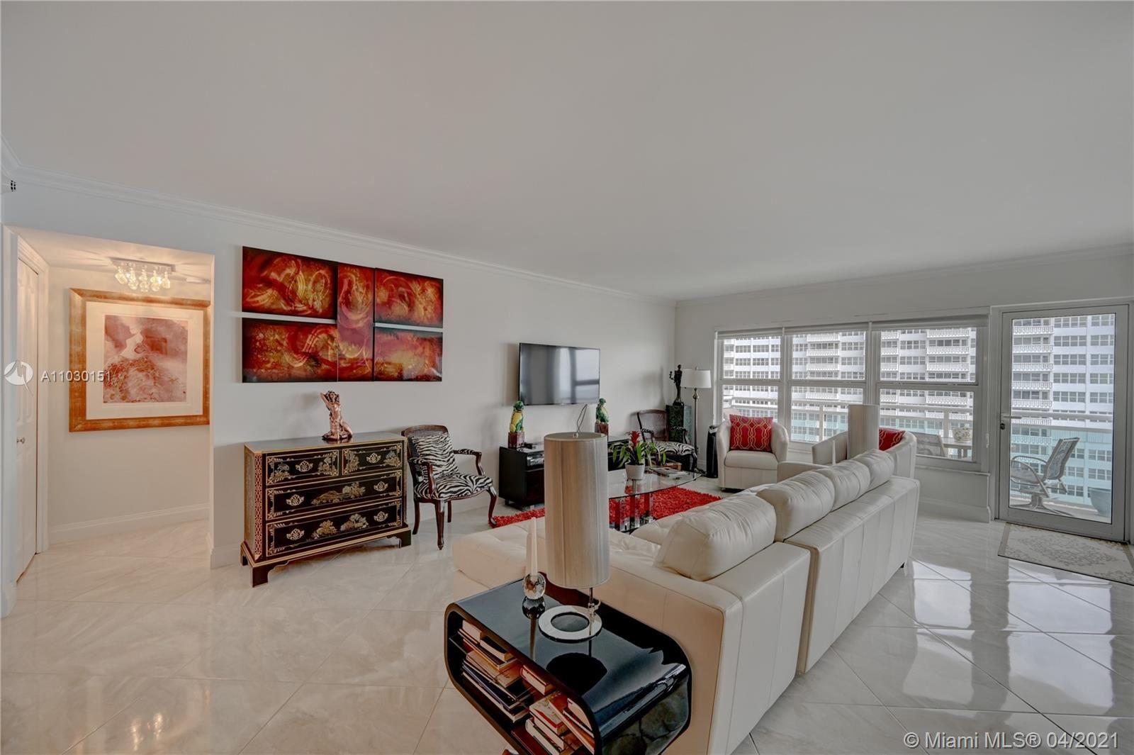 Photo of 3900 Galt Ocean Dr #716, Fort Lauderdale, FL 33308 (MLS # A11030151)