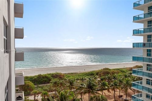 Photo of 9225 Collins Ave #804, Surfside, FL 33154 (MLS # A11014152)