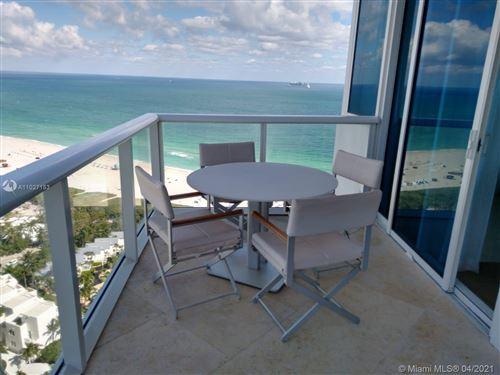 Photo of 100 S Pointe Dr #2509, Miami Beach, FL 33139 (MLS # A11027153)