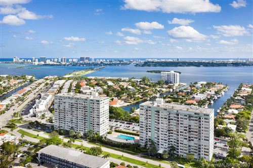 Photo of 2150 Sans Souci Blvd #F1, North Miami, FL 33181 (MLS # A10964155)