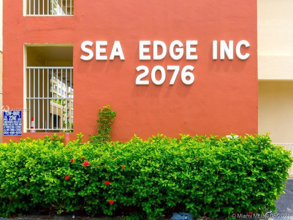Photo of 2076 S Ocean Dr #106, Hallandale Beach, FL 33009 (MLS # A11043157)