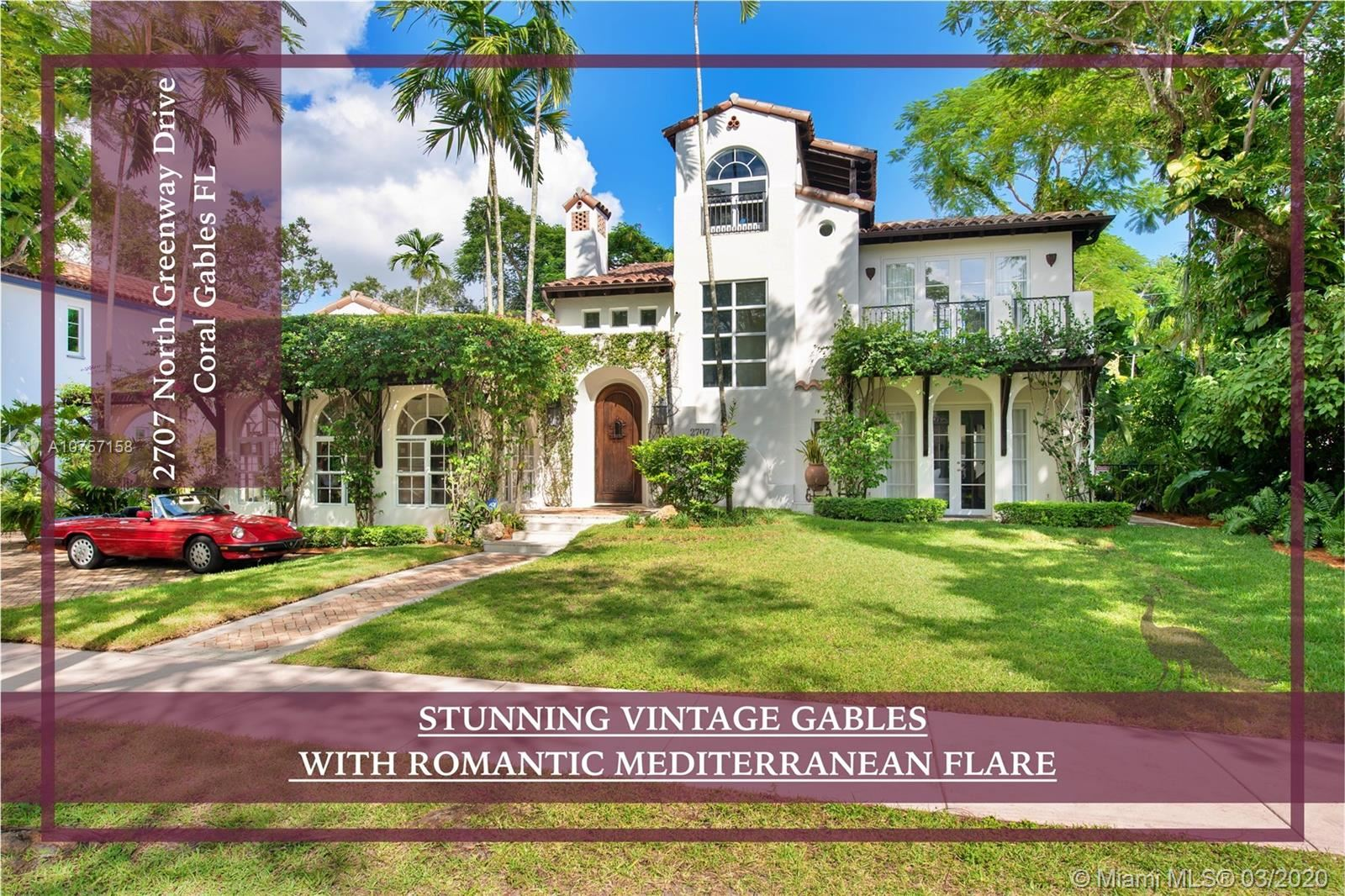 2707 N Greenway Dr, Coral Gables, FL 33134 - #: A10757158