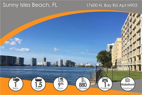 Photo of 17600 N Bay Rd #N903, Sunny Isles Beach, FL 33160 (MLS # A11014161)