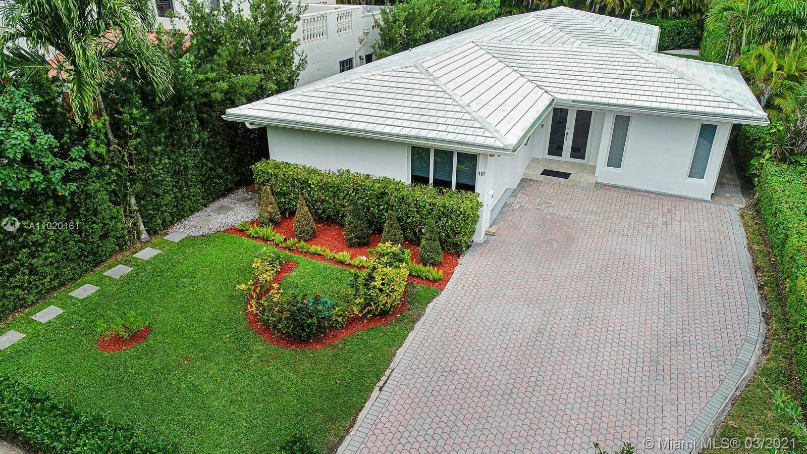 407 Sarto Ave, Coral Gables, FL 33134 - #: A11020161